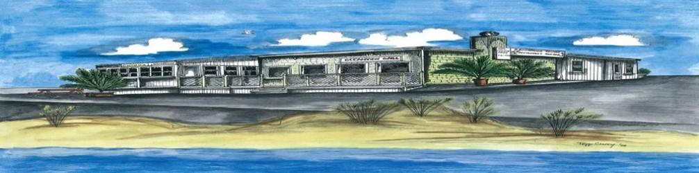 Drawing of Sandbridge Island Restaurant