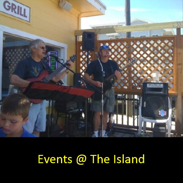 Events at Sandbridge Island Restaurant