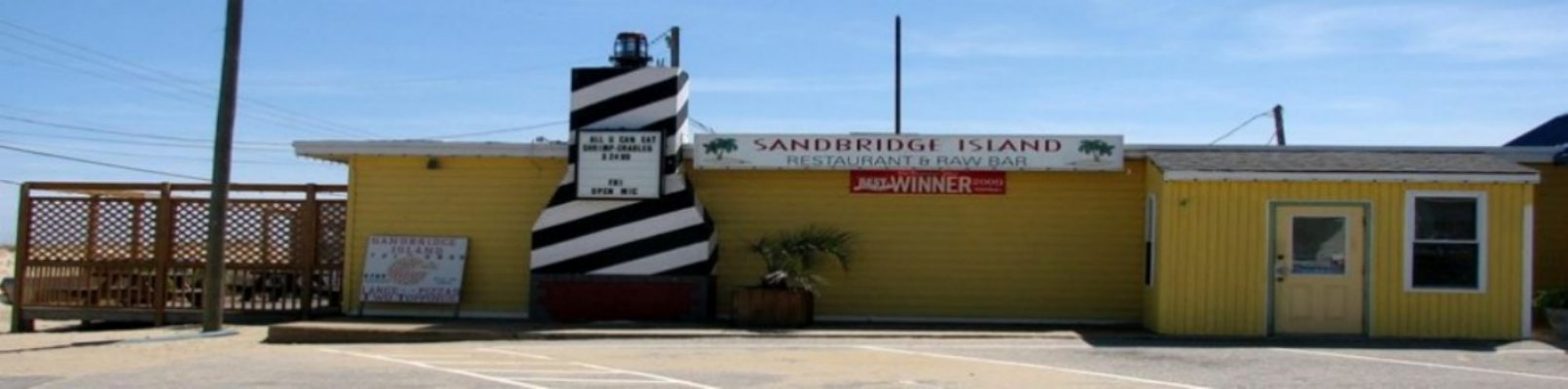 Sandbridge Island Restaurant building